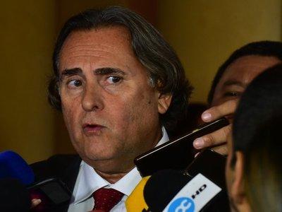 Mario Abdo minimiza visita de José Ortiz a Palacio de López