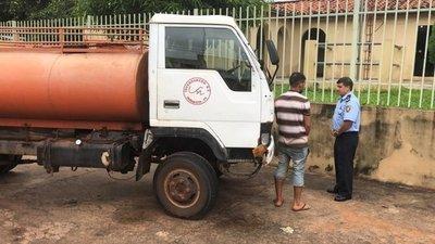 Recuperan camión de un edil robado en Horqueta