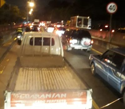 Asunción: reportan inconvenientes en el tránsito