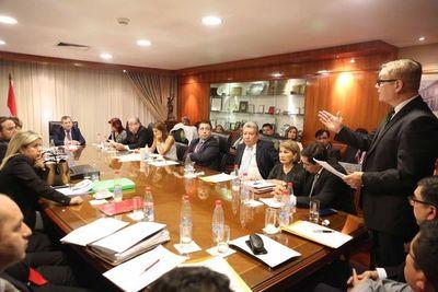 Ministros inician reuniones con gremios de abogados