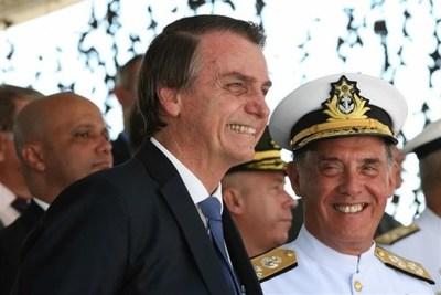 Jair Bolsonaro visitó la sede de la CIA
