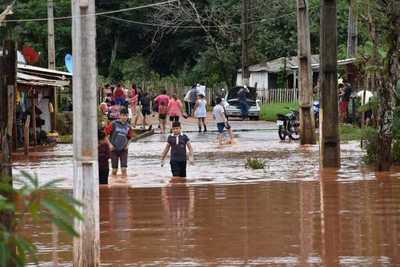 Declaran estado de emergencia en el municipio de Ciudad del Este