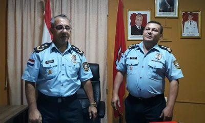 Cambian a Director de Policía del Alto Paraná