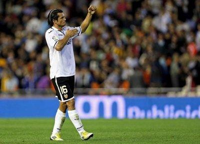 Haedo felicita al Valencia