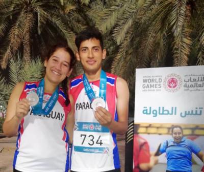 11 medallas para Paraguay en Olimpiadas Especiales