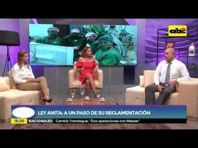 Ley Anita: a un paso de la reglamentación