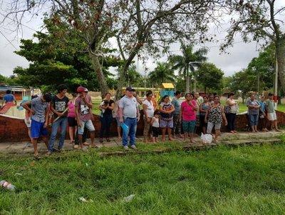 Carencia de trabajos a consecuencias de las continuas lluvias