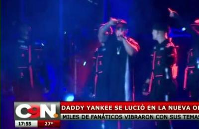 Daddy Yankee se lució en la Nueva Olla