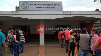 IPS ENCARNACIÓN EXPERIMENTA NUEVO SISTEMA DE TURNOS PERO IGUAL HUBO LARGAS COLAS