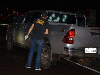 Atacan a tiros a supuesto ex piloto de Pavão en Ponta Porã