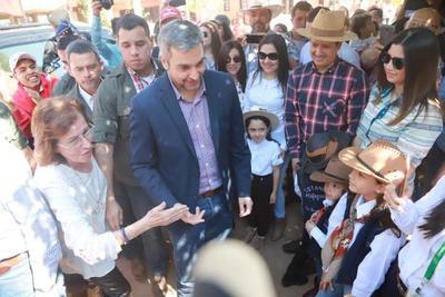 Jefe de Estado visita zona del Alto Paraná
