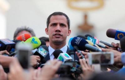 Guaidó ve a Maduro