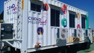 Ciudad Mujer Móvil llegará al departamento de Concepción