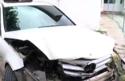Quíntuple accidente de tránsito en el Microcentro de Asunción
