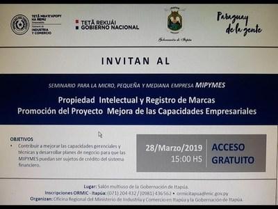 DICTARÁN SEMINARIO PARA MICROEMPRESARIOS