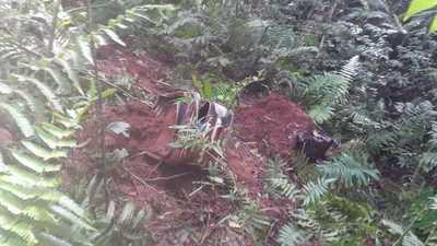 Hallan restos humanos en dos maletas en Yguazú