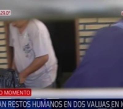 Encuentran cuerpo desmembrado de mujer en dos valijas