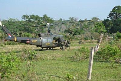 Reportan desaparición de militar de la FTC en arroyo de Concepción