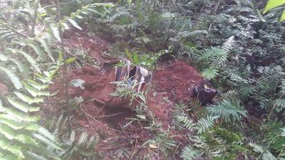 Un cuerpo desmembrado hallaron en dos maletas