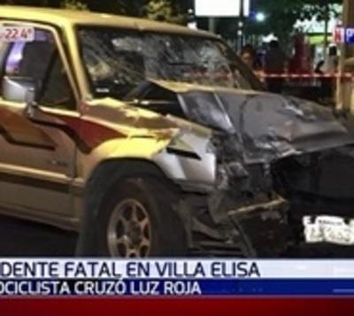 Imprudencia provocó fatal accidente en Villa Elisa