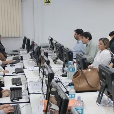 Justicia Electoral probó con éxito el TREP en Ciudad del Este