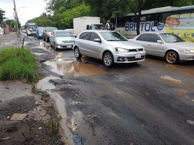 Asunción es un caos y está en emergencia vial