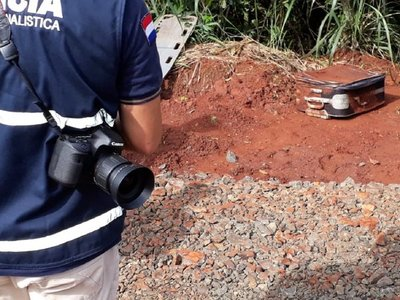 Buscan identificar los restos de una mujer hallados en dos maletas