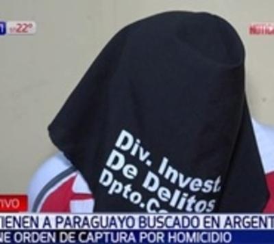 Capturan a paraguayo buscado por homicidio en Argentina
