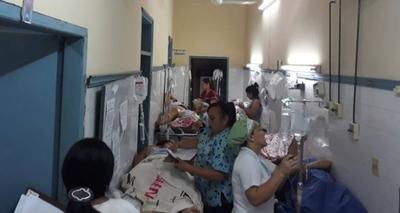 HOY / Pasillo de hospital seguirá por unos meses como sala de internación pre y post parto