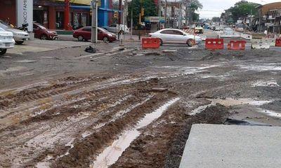 MOPC aguarda la reestructuración para el desagüe pluvial del proyecto Metrobús