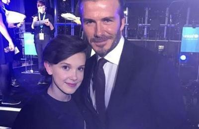 Romance de Millie Bobby Brown e hijo de David Beckham despierta el interés mediático
