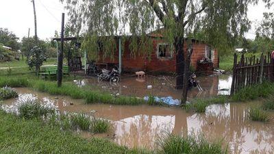 San Pedro: tras intensas lluvias familias quedaron bajo agua