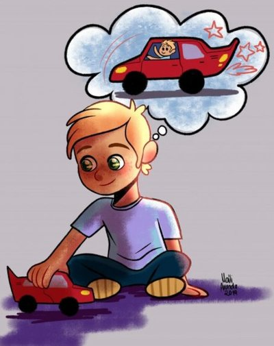 Los autos: una pasión de los muchachos que causa celos en las mujeres