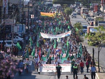 Los desvíos a tener en cuenta durante la marcha campesina