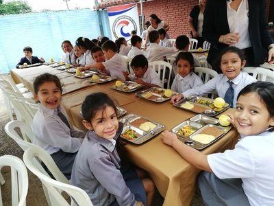 El almuerzo escolar ya llegó a Central