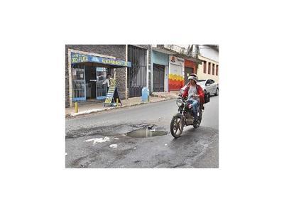 Declaran emergencia vial en Asunción