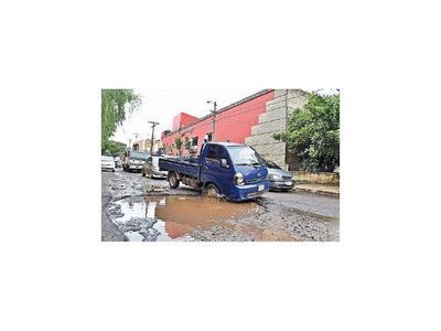 Para reparar las calles de San Lorenzo usarán G. 1.000 millones