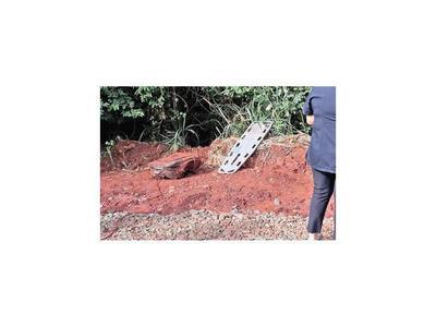 Según estudios  mujer hallada en Yguazú murió por asfixia
