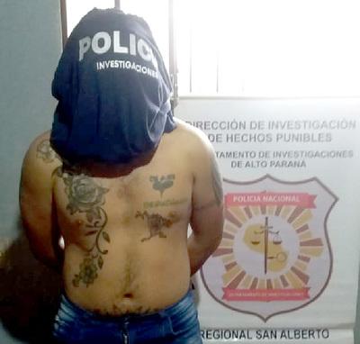 Capturan a sospechoso de atracos a las municipalidades de Itakyry y Santa Fe