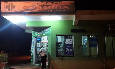 Asaltan farmacia en Coronel Oviedo – Prensa 5
