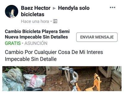 Ofertan bicicletas públicas en Hendyla