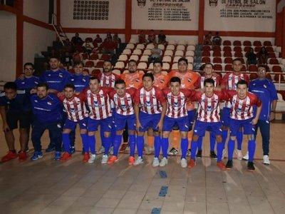 Paraguay tuvo una dura prueba ante el Campeón Nacional
