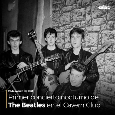 #TBT985 1961: The Beatles ofrecían el primer show nocturno