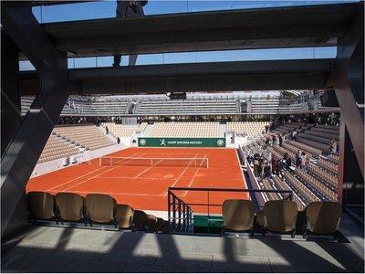 Roland Garros inaugura su nueva pista