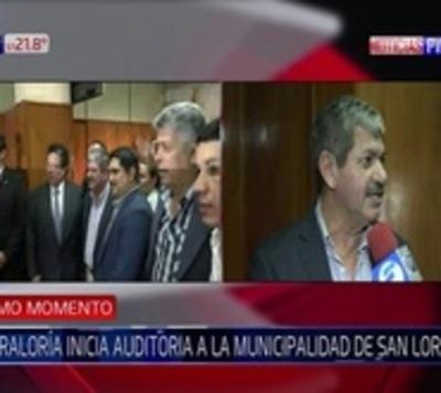 Contraloría auditará gestión de Albino Ferrer en San Lorenzo