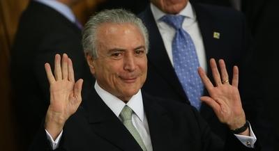 El expresidente brasileño Michel Temer arrestado por el caso Lava Jato