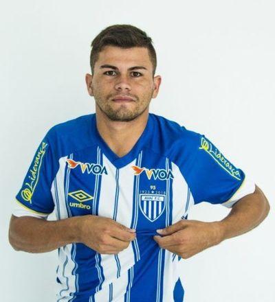 "Primer gol de ""Peta"" Brizuela en Brasil"