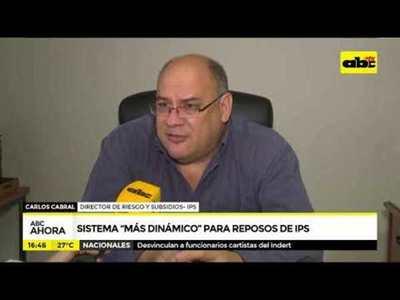 Sistema más dinámico para reposos de IPS