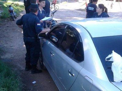 Presunto delincuente abatido en procedimiento policial en Asunción