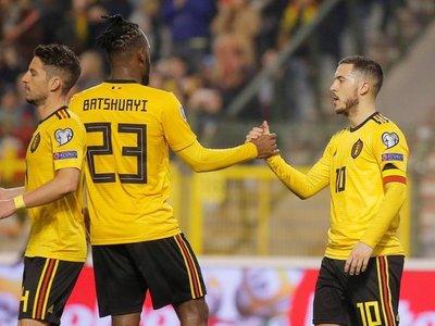 Bélgica derrota a Rusia con doblete de Hazard